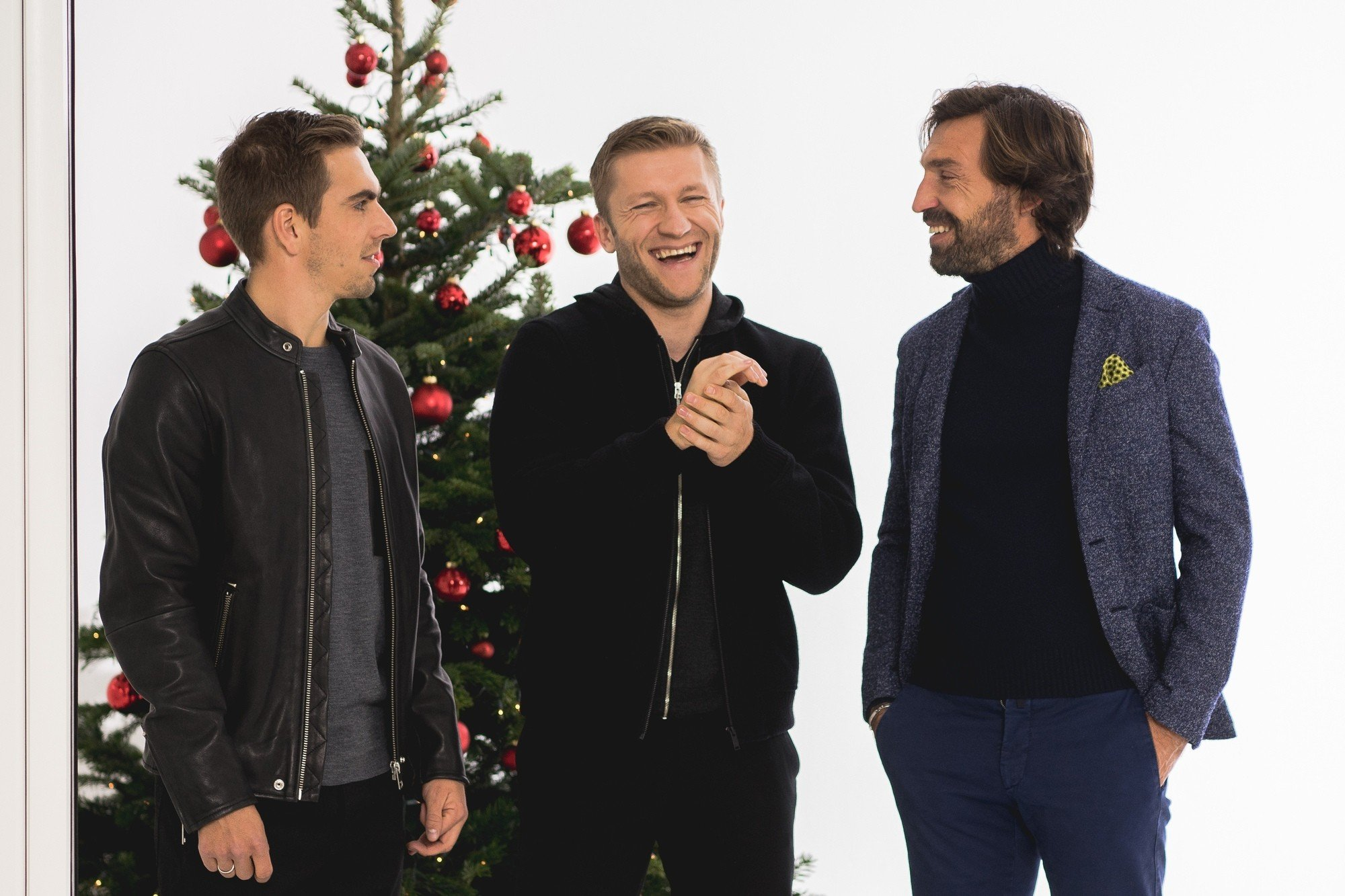 Pirlo, Lahm and Błaszczykowski make Christmas wishes!