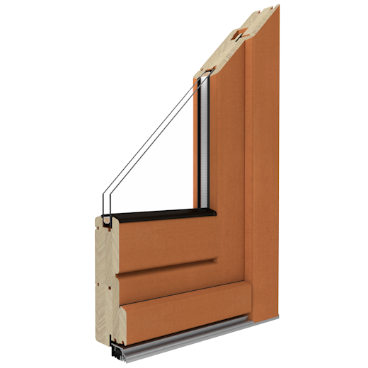 SOFTLINE 68 - Wooden doors