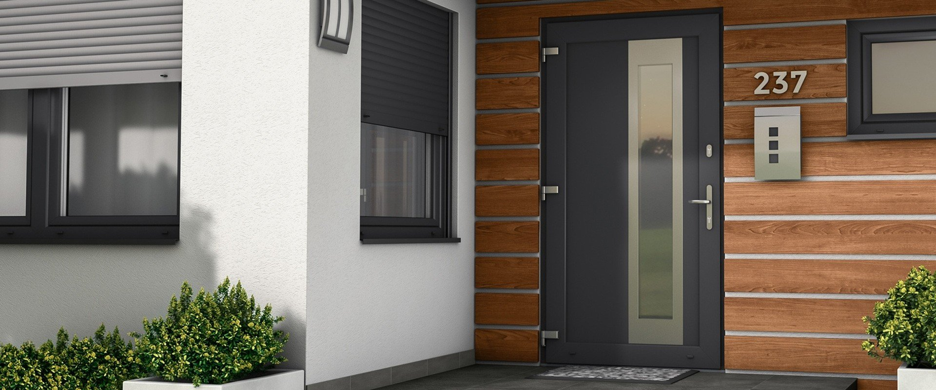 DRUTEX PRESENTS ITS OWN, ORIGINAL DESIGN OF FRONT DOORS.