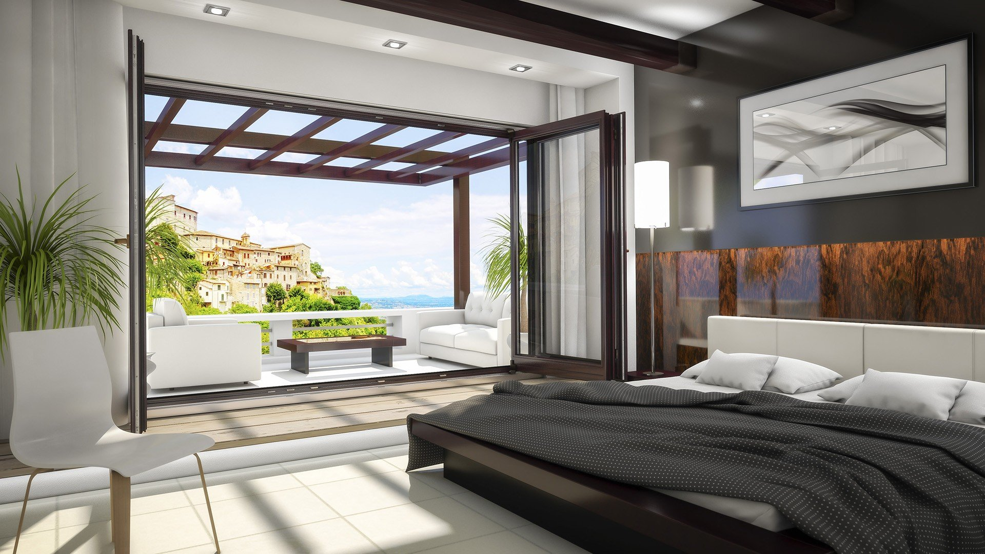 Terrace systems » Folding doors » SOFTLINE 68